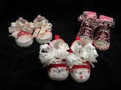 """""""Bling"""" shoes for the little ones we love."""
