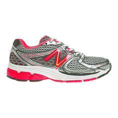 New Balance Women's W860SP3 Stability Running Shoes (145 CAD) ❤ liked on Polyvore featuring shoes, athletic shoes, running shoes, lightweight shoes, light weight running shoes, new balance and pink athletic shoes