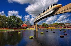 Monorail Monday - Monorail Peach Flower & Garden 2012   Flickr - Photo Sharing!