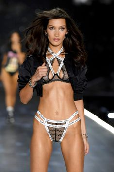 b2d27cd653d1 Bella Hadid's Victoria's Secret Looks Have Me Singing,