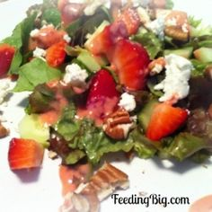 Creamy Strawberry Salad Dressing recipe