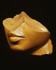 Fragment of the Face of a Queen, made in Egypt during the reign of Akhenaten, c.1353-1336 BC