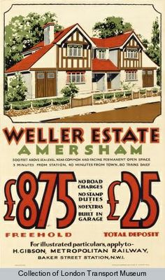 Weller Estate, Amersham, 1933