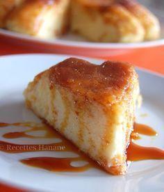 *Gâteau de semoule à la cannelle et au caramel : Pour le gâteau : 1 litre de lait, 100g de sucre, 120g de semoule très fine, 1cuil. à café de cannelle, 3 œufs. Pour le caramel : 80g de sucre, 2 cuil. à soupe d'eau
