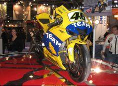 Rossi's 2006 Yamaha YZR-M1