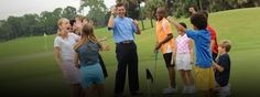 Summer is the Perfect Time to Introduce Your Kids to Golf. Simple putting games can provide hours of fun.