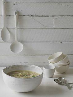 Australian Gourmet Traveller entree recipe for lamb and pearl barley soup Lamb Recipes, Entree Recipes, Soup Recipes, Drink Recipes, Healthy Soup, Healthy Eating, Pearl Barley, Barley Soup, Lentil Soup