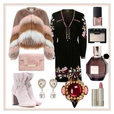 """""""Party #2"""" by glamheartcafe ❤ liked on Polyvore featuring Topshop, Erickson Beamon, Urbancode, Chloé, Dolce&Gabbana, Viktor & Rolf, Ilia and NARS Cosmetics"""