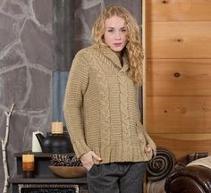 Looking for your next project? You're going to love Bundle Up Sweater by designer Brenda Castiel.