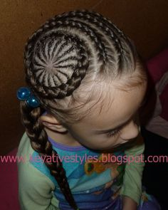 Cornrow | Keyative Styles: New Cornrow Design