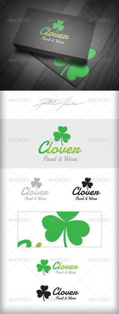 I like the second last from the bottom. The clover and the fading colours in the txt