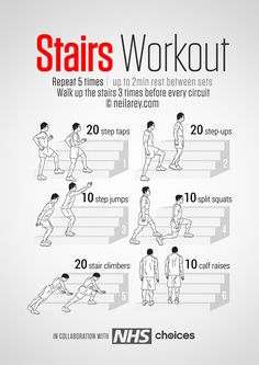 Stairs Workout                                                                                                                                                     More