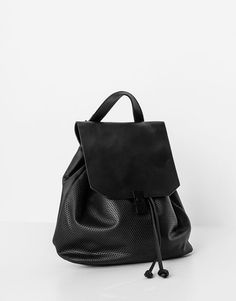 Cutwork backpack - See all - Accessories - Woman - PULL&BEAR Korea, South