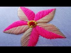 This is a group of floral patterns perfect for embroidery beginners. You get to try out on different embroidery styles for this piece. Hand Embroidery Tutorial, Hand Work Embroidery, Embroidery Flowers Pattern, Rose Embroidery, Learn Embroidery, Hand Embroidery Designs, Custom Embroidery, Embroidery Stitches, Embroidery Ideas