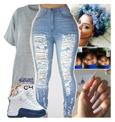 """yo body on my body baby."" by lamamig ❤ liked on Polyvore featuring Chanel and NIKE"
