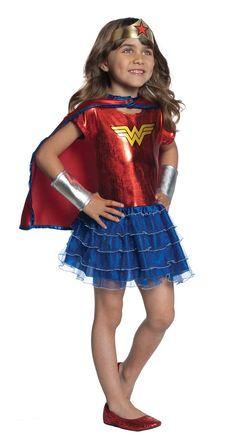 2758093b0 Girls 46 Costume Tutu Dress Set Wonder Woman -- Check out the photo link  more