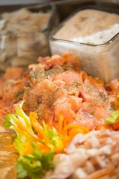 ALACARTE CATERING's fabulous Salmon - displayed at the ASO Decorators' Show House in April.  Our clients just love it!  #food #wedding #atlantawedding #atlantacatering #foodideas #cateringideas #weddingideas #entertaining #fingerfoods #catering #atlantavenues #entertainment #partyideas #catering.....foodpresentation #ASOShowHouse