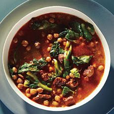 One-Hour Spanish Chickpea Soup Recipe
