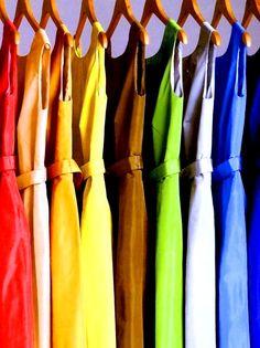 Rainbow colors ❖de l'arc-en-ciel❖❶Toni Kami Colorful dresses