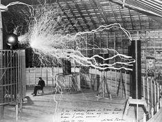 Nikola Tesla - 1901                                                                                                                                                                                 More