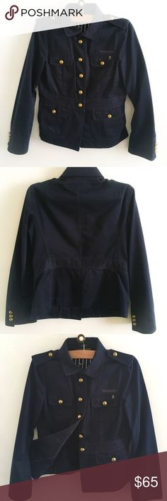 ⚡️1 hr sale⚡️J. Crew Military Jacket Great quality J. Crew Jacket. Good Preowned Condition💕 Form Fitting (see measurements). J. Crew Jackets & Coats