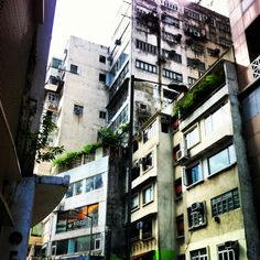 The Skies at Lan Kwai Fong, Hong Kong Island