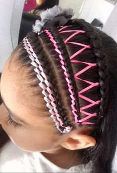 Little Girl Hairstyles, Cute Hairstyles, Toddler Hairstyles, Corte Y Color, Stylists, Braids, Hair Styles, Beauty, Paper Clutter