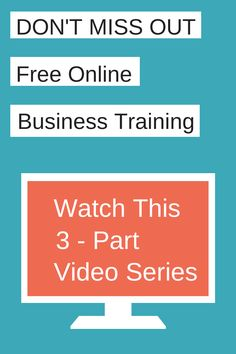 Free Video Series - How to create a business and life you love! This will be something good to have under my belt for college and other future plans.