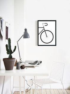 Road Bike Art | Bicycle Art | Bike Poster | Gift for Cyclist | Modern Art Print…