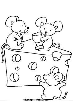 Resultado de imagen de careta de raton para colorear