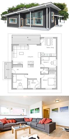 plan de petite maison