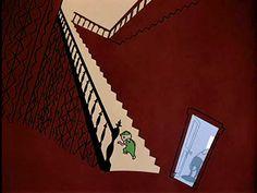 still from the cartoon Gerald McBoing Boing Vintage Cartoon, Cartoon Art, Angelina Ballerina, Storyboard Artist, California Cool, Animation Background, Classic Cartoons, Mid Century Style, Flat Design