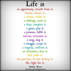 Life is,,,,,,,,,,,,,,,,