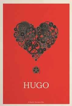 """Hugo"" (2011) poster design by Hunter Langston"