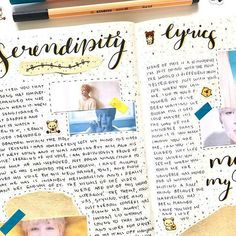 FINALLY got around to making my Serendipity spread. I have been trying to find the time to create and film this for the longest lol. The video should be up either today or tomorrow! • • • • • #bujo #bulletjournal #kpopbujo #kpopjournal #studygram #bujoinspo #bujospreads #bujoinspire #weeklyspread #pwm #studyspo #bulletjournaling #bulletjournalingcommunity #studygram #flatlay #journal #journaling #kpop #bts #spread #kpopdiary #journalwithme #jimin #serendipity