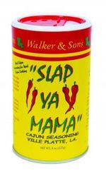 I'll add my word to this. It is the best cajun seasoning, ever! Silly name, serious flavor: Today's find is Slap Ya Mama, a Cajun seasoning we swear by. -this is my friend Craig and Jack's seasoning! Cajun Recipes, Gourmet Recipes, Creole Recipes, Gourmet Foods, Sauce Recipes, Yummy Recipes, Okra And Tomatoes, Silly Names, Cajun Cooking