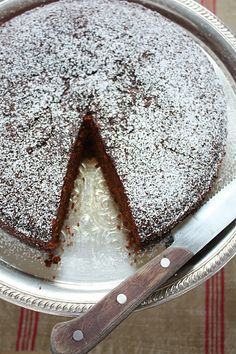 A Baking Life: Gingerbread Cake with Vanilla-Bourbon Bavarian Cream and Cinnamon-Brown Sugar Caramel Gluten Free Sweets, Gluten Free Cakes, Gluten Free Baking, Dairy Free Recipes, Foods With Gluten, Sans Gluten, Gluten Free Gingerbread, Gingerbread Cake, Bavarian Recipes