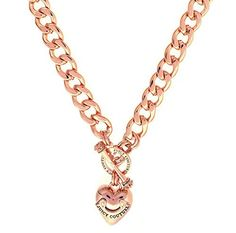Juicy Couture Heart Banner Starter Necklace, Rose Golden Juicy Couture http://www.amazon.com/dp/B00SK80DCY/ref=cm_sw_r_pi_dp_jxdWub0PQR6DS