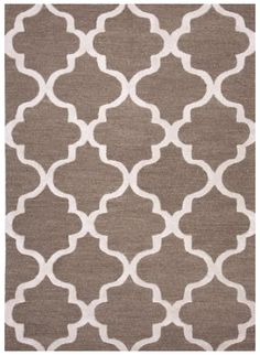 Geometric Pattern Wool Rug. 100% wool Plush Pile Area Rug Textured Area Rug Soft Hand Area Rug