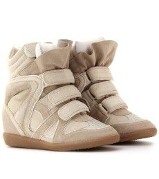 To know more about Isabel Marant WILLOW SUEDE SNEAKERS, visit Sumally, a social network that gathers together all the wanted things in the world! Featuring over other Isabel Marant items too! Sneakers Mode, Suede Sneakers, Sneakers Fashion, Hidden Wedge Sneakers, High Top Sneakers, Crazy Shoes, Me Too Shoes, Fab Shoes, Dream Shoes