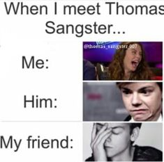 My friend: Sorry, she's just... you know.... Thomas: I know. Me: Hey (f/n) Is that Dylan O'Brien? My friend: Oh MY GOSH!