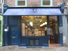 neal's yard dairy, covent garden, london
