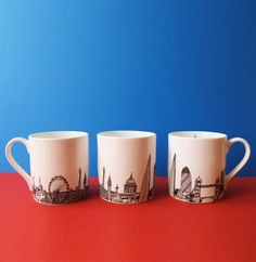 London Skyline Mug by cecilyvessey on Etsy, £12.00 for Sara