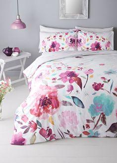100% Cotton Floral Duvet Cover (200 Thread Count)