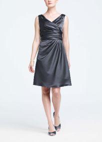 david's bridal pewter dress - Google Search - Kim