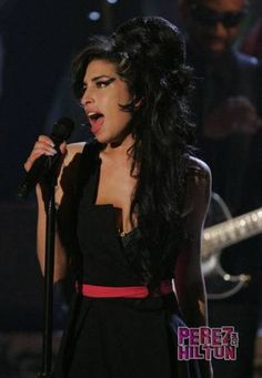 Amy Winehouse- loved how she was so unique. Before she died I found her fascinating by being different.
