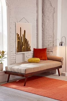 Shop Alessa Daybed, Cushion + Pillow Set at Urban Outfitters today. We carry all the latest styles, colors and brands for you to choose from right here. Living Room Decor, Living Spaces, Bedroom Decor, Daybed In Living Room, Wood Bedroom, Bedroom Ideas, Sofa Daybed, Sleeper Sofa, Daybed Bedding