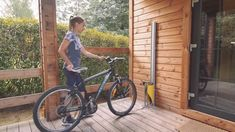 Automatic bike rack Automatic rackYou can find Bike storage and more on our website. Bicycle Storage Garage, Garage Velo, Bike Storage Rack, Outdoor Bike Storage, Diy Garage, Garage Storage, Bike Storage Narrow, Bike Racks For Garage, Outside Bike Storage