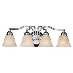 Feiss Bristol 4-Light Chrome Vanity Light