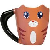 Buy Ginger Cat - Colour Changing Mug online and save! Thumbs Up: Colour Changing Ginger Cat Mug A cute cat shaped mug with a bushy tail for a handle, just add hot water to see it magically change colour. Mighty Ape, Cat Mug, Cat Colors, Ginger Cats, Sale Promotion, Color Change, Mugs, Colour, Stuff To Buy
